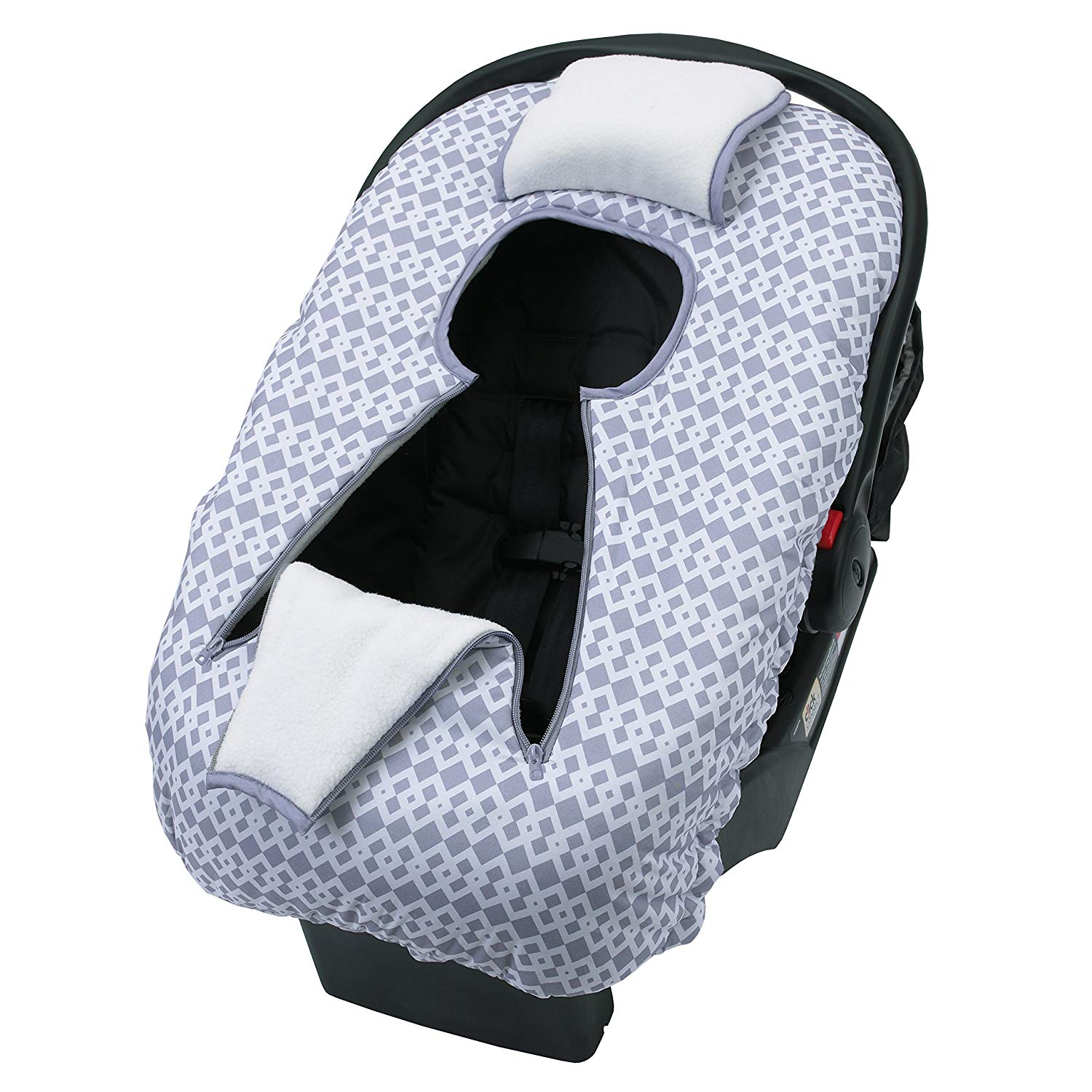 76fe29e0513 Details about NoJo On The Go Baby Car Seat Cover-Up