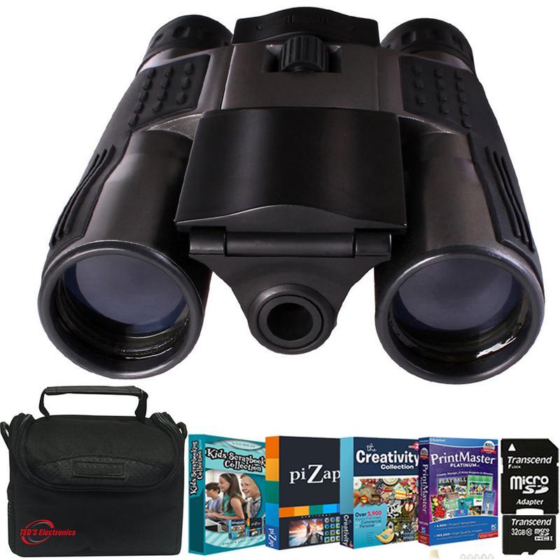 Cameras & Photo Binocular Cases & Accessories Learned Vivitar Binocular Set New